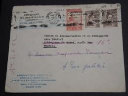 ARGENTINE - Enveloppe De Buenos Aires Pour Paris En 1952 - A Voir - L  3392 - Argentinien