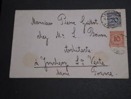 ALLEMAGNE - Enveloppe Pour La France En 1924, Affranchissement Plaisant - A Voir - L  3395 - Briefe U. Dokumente