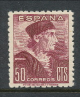 Spain 1946 Edifil #  1002. Elio Antonio De Nebrija, MNH (**) - 1931-50 Unused Stamps