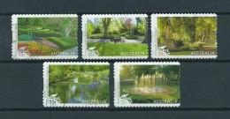 2009 Australia Complete Set Parks&gardens Used/gebruikt/oblitere - Gebruikt