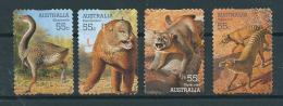 2008 Australia Complete Set Prehistoric Animals Used/gebruikt/oblitere - 2000-09 Elizabeth II