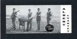 *Albert Cuartet* Texto Y Firma Autógrafa Al Dorso. Impreso Promocional. Meds: 73x150 Mms. - Autographes