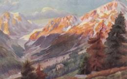 AO53 Hildesheimer Art Postcard - Mountainous Landscape - 1900-1949