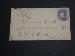 CHILI - Entier Postal De Santiago En 1891 - A Voir - L  3405 - Chile