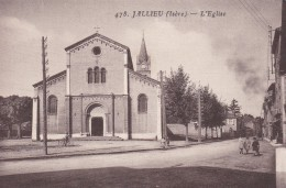 7c - 38 - Bourgoin - Jallieu - Isère - L'Eglise - N° 478 - Bourgoin