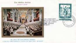 VATICAN 1965 - 15 L Auf Souvenir Cover Stempel Vatican - Vatikan