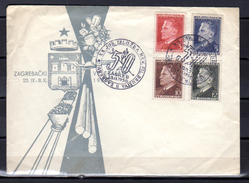 1950  Maréchal Tito, 1er Mai, 544 / 547 Sur Enveloppe  Ø Spéciale 23.IX.1950 - 1945-1992 Socialist Federal Republic Of Yugoslavia