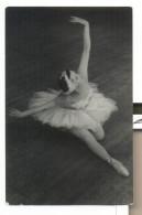 KSENIYA RYABINKINA Russian BALLET Star Old Postcard USSR 15000pcs Swan Lake - Danza