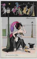 CPA Xavier SAGER Prostitution Prostitute Femme érotisme BG 506 Non Circulé Mode Chapeaux - Sager, Xavier