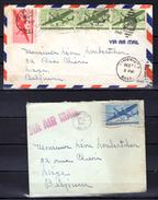 Avion Bi-moteur Sur Lettre - 2c. 1941-1960 Lettres