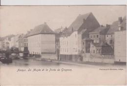 """BELGIQUE NAMUR NAMUR   """" Le Musée Et La Porte De Grognon """" Précurseur - Namur"""