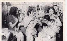LES GIRLS ( Suzette,Chérie,Fifi,Loulou) Femmes Nues De Spectacle - Non Classés