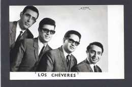 *Los Chèveres* Al Dorso Firma Autógrafa. Foto Promocional. Meds: 99x153 Mms. - Autógrafos