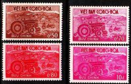 VIETNAM SÜD SOUTH [1961] MiNr 0227-30 ( **/mnh ) - Viêt-Nam