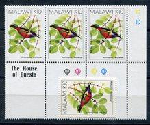 1994-MALAWI-BIRD- 4 VAL.M.N.H. -LUXE ! - Malawi (1964-...)