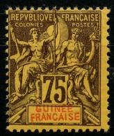 Guinée (1892) N 12 * (charniere)