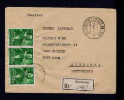 "ANGOLA Moçamedes 1949 Cover 3x ""Miguel Cerveira Pereira"" 300th Restoration Of Angola To Portugal Monarch Sp4216 - Angola"