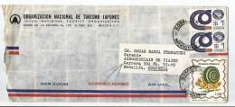 MEXICO CORREO AÉREO. 1982 -  CARTA COMERCIAL VOLADA DESDE MEXICO A COLOMBIA - Mexico