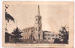 N.1 MISSÕES FRANCISCANAS -BEIRA -IGREJA PAROQUIAL CONSTRUIDA PELOS FRANCISCANOS - Mozambique