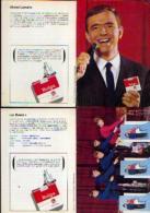 Cigarettes BELGA - Lot De 2 CV Publicitaires - Documents