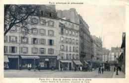 Paris V - Rue De Jussieu (celebre Famille De Botanistes) Prise De La Place - District 05