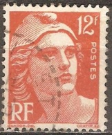 France - 1951 - Marianne De Gandon - YT 885 Oblitéré