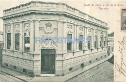 58150 ARGENTINA ROSARIO BANK BANCO DE ITALIA Y RIO DE LA PLATA  POSTAL POSTCARD - Argentina