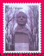 TRANSNISTRIA 2011 Space 1-st Soviet Cosmonaut Astronaut Gagarin Monument Bust In Tiraspol 2v MNH - Europe
