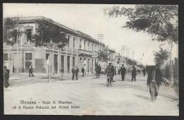 MESSINA Viale S. Martino Ed Il Nuovo Palazzo Del Grand Hôtel ) ITALIE - Messina