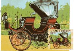 SAO TOME & PRINCIPE  SAO TOME  Peugeot Daimler 1894  28/12/83 - Coches