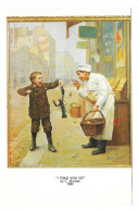 Art Postcard Moreau I Told You So Haussner's Restaurant Baltimore MD - Paintings