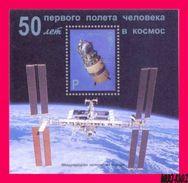 TRANSNISTRIA 2011 Space 1st Soviet Manned Spaceship «Wostok» S-sheet MNH - Espace