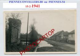1941-PIENNES ONVILLERS-80 Ou PIENNES-54-???-Carte Photo Allemande-Guerre 39-45-II WK-Militaria-France-80-54- - Other Municipalities