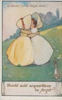 """Agnes  Richardson  -  """"  Should  Auld  Acquaintance  Be  Forgot   ?""""    """"  L,Absence Fut  De  Long  Durée ! """" - Illustrateurs & Photographes"""