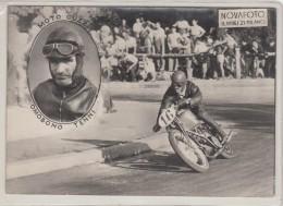 MOTO GUZZI_OMOBONO TENNI-FOTO-PHOTO ORIGINALI 100%-CORSE-GARE-MOTOCICLISTI- - Motorbikes