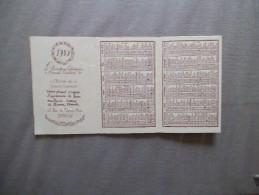 CALENDRIER 1930 OEUVRE DE LA SAINTE ENFANCE - Kalenders