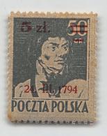 POLAND, POLEN 1945, FI 361, MI 398 *, MLH - Ungebraucht