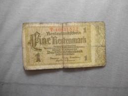 EINE RENTENMARK BERLIN DEN 30 JANUAR 1937 - Allemagne