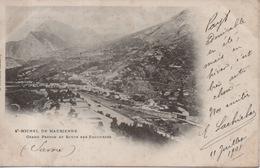 Saint Michel De Maurienne - Grand Perron Et Route Des Encombres ( Carte Nuage Ou Précurseur ) - Saint Michel De Maurienne