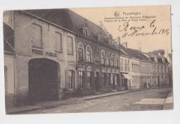POPERINGE STADSCHOUWBURG EN WEEGSCHAAL - Poperinge