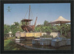 Saudi Arabia Picture Postcard One Of The Widespread Recreation Grounds  View Card - Arabie Saoudite