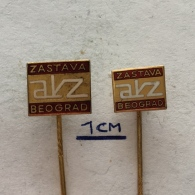 Badge (Pin) ZN002989 - Automobile (Car) Auto Kuca Zastava (AKZ) Belgrade - Unclassified