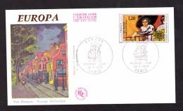 ENVELOPPE PREMIER JOUR - EUROPA - 25 AVRIL 1975 - VAN DONGEN - FDC