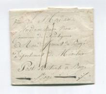 !!! N°15 ARMEE D'ALLEMAGNE (R) SUR LETTRE DE CASTRIN DU 8/2/1812 - Marques D'armée (avant 1900)