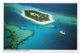 MALDIVES-RANGALI ISLAND RESORT (PUBL.ROYAL ARTS) / THEMATIC STAMP-FLOWERS - Maldive