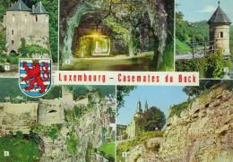 LUSSEMBURGO - LUXEMBOURG - 1975 - Le Vignoble - Casemates Du Bock - Multiviews - Viaggiata Da Luxembourg Per La Panne... - Luxembourg - Ville