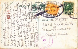 CANADA  POSTAL  HISTORY  DEAD  LETTER  OFFICE  CARD  (o) - 1911-1935 Reign Of George V