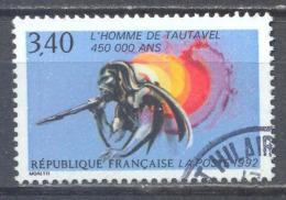 France YT N°2759 L'homme De Tautavel Oblitéré ° - Frankreich