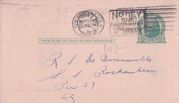 USA, Entier Postal, Publicité, Mackay Radiogram, New York (11.9.1930)