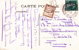 FRANCE  POSTAGE  DUE  CARD   (o) - Postage Due